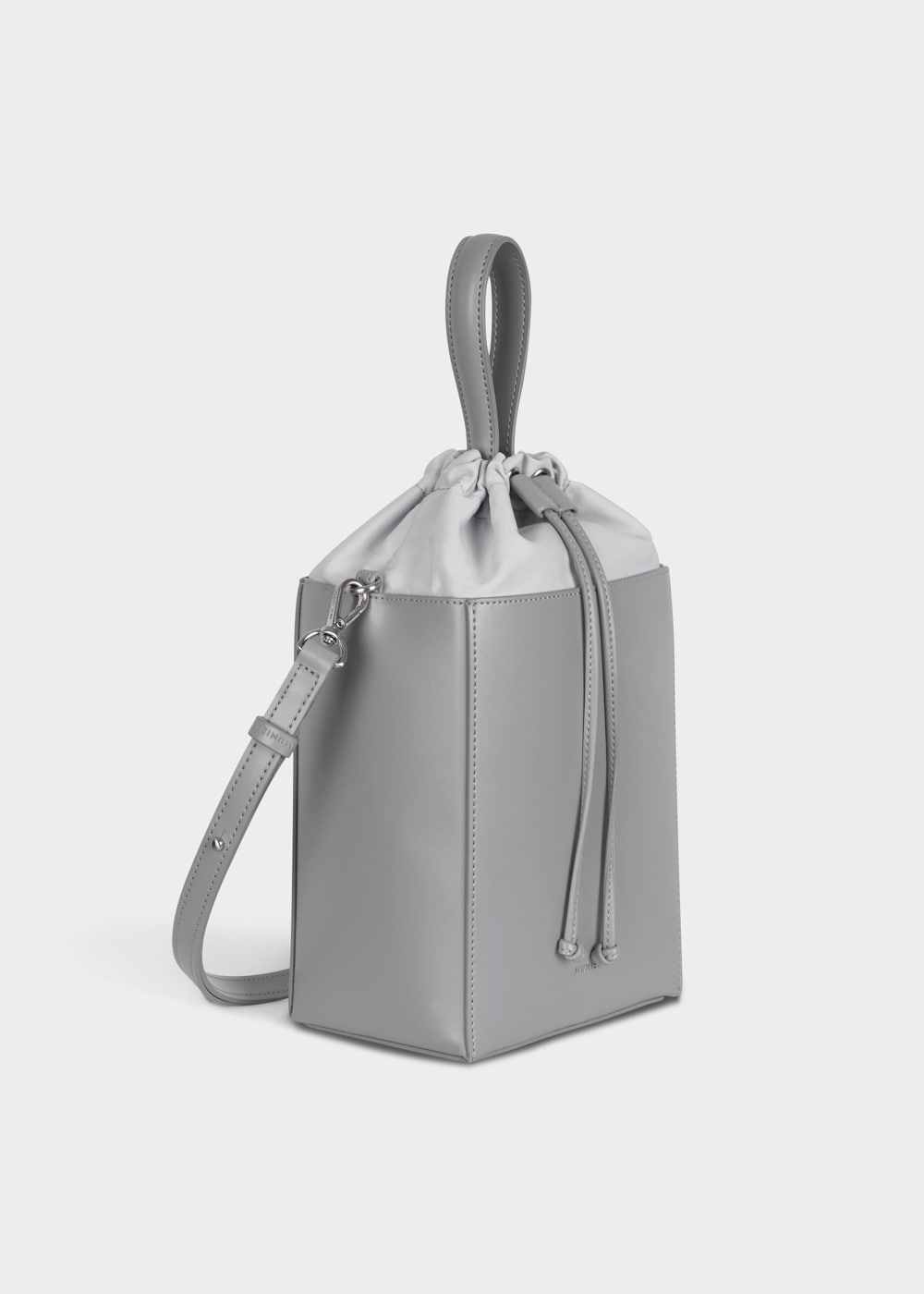 CUBE BAG_GREY SOLID